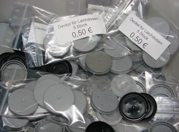 Deckel für Laichdosen